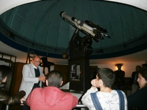 In the observatory of the university