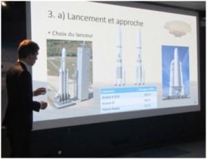 Martian airship drone conception project presentation.
